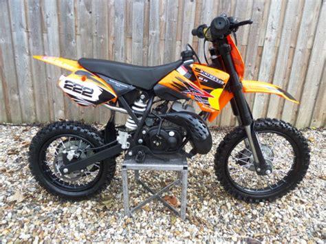 Ktm 50 Automatic Mini Mx 50r 50cc Childs Moto Cross 2 Stroke Automatic 9hp