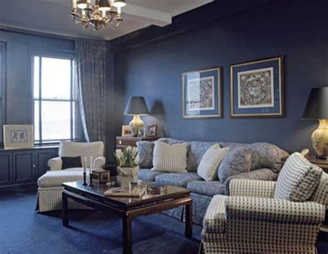 Blue Painted Living Rooms living rooms painted blue modern house