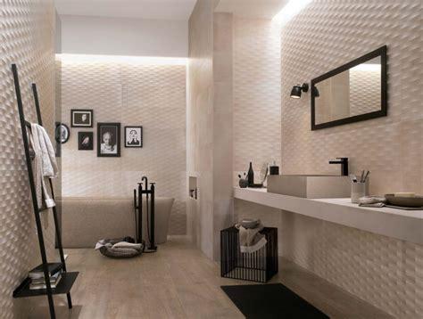 Incroyable Carrelages Italiens Salle De Bain #2: faience-salle-bains-creta-3d-couleur-beige-clair-vasque-pierre.jpg