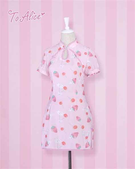 Cheongsam Rabbit Strawberry 273 Best Dolly Taobao Images On Ghosts Pastel