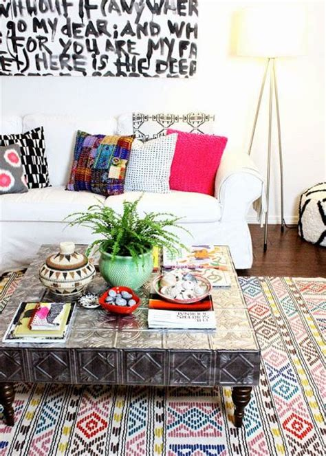 Boho Coffee Table Stylehunter Collective Bohemian Interiors How To Release A Boho Into Your Home