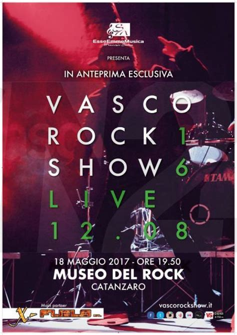 concerto vasco catanzaro vasco rock show in concerto al museo rock di