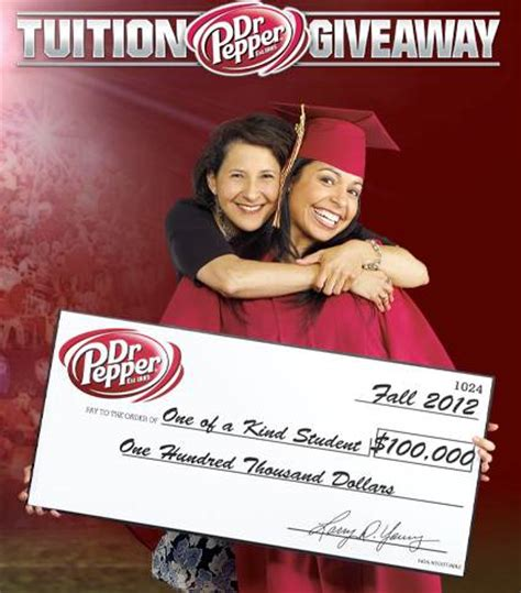 Dr Pepper Million Dollar Tuition Giveaway - lambda theta alpha s website