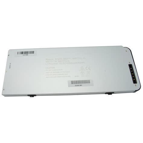 Baterai Macbook Unibody baterai apple macbook 13 silver metalic