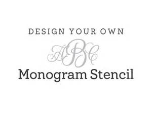 free monogram template 8 best images of large monogram stencils printable free