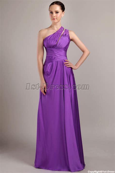 To Dress Violet violet graduation dress with one shoulder img 3026 1st dress