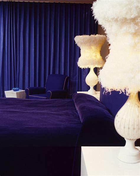 sapphire blue bedroom dazzling jewel toned decor
