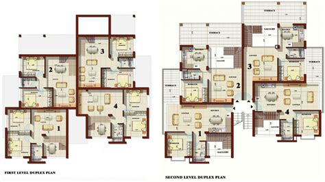 best plans apartment duplex house plans best duplex house plans