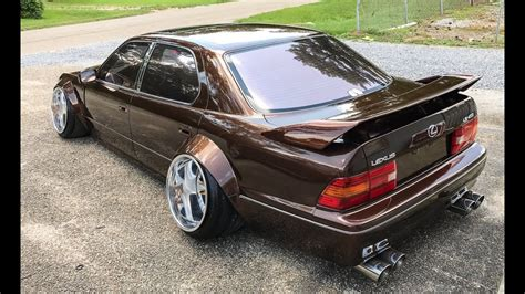 widebody lexus ls vip wide body 1995 lexus ls400 one take youtube