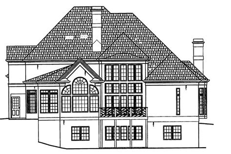 Westover House Plan Westover 5989 4 Bedrooms And 3 Baths The House Designers