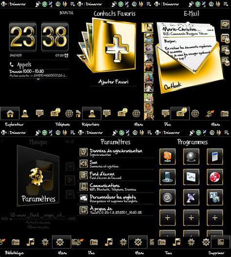 Gold Themes For Htc | th 232 me gold hd htc blackstone touch hd
