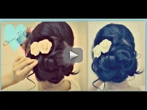 instructions on how to do a curly dressy chin lenght hairstyle 866 best images about beauty hair on pinterest birdcage
