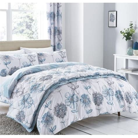 Catherine Set catherine lansfield quot banbury floral in blue quot duvet cover