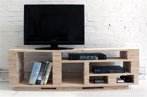 How To Build A Patio Bench Ep2 Plywood Media Console Homemade Modern