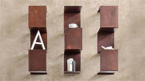 libreria metallo design libreria design a parete in metallo segmento moderno