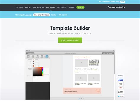 free email template builder the ultimate guide to email design webdesigner depot