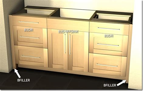 barker cabinets wall to wall vanity layout tutorial