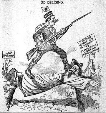 geopolitical cartoons: korea, early 1900s | z geography