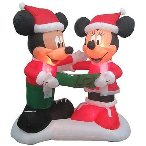 disney light pathway mickey ears mickey mouse lights outdoor decoratingspecial com