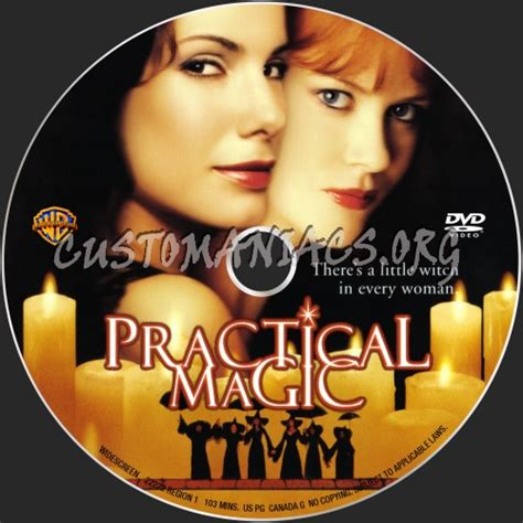 Caver Magic practical magic dvd label dvd covers labels by