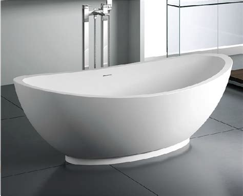 Solid Surface Bathtub by Bathroom Bath Free Standing Solid Surface Bathtub