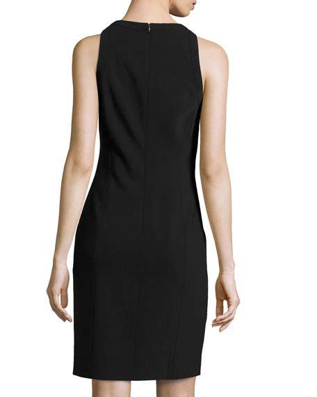 Who Wore It Better Michael Kors Leopard Sheath Dress by Michael Kors Leopard Lace Illusion Sheath Dress