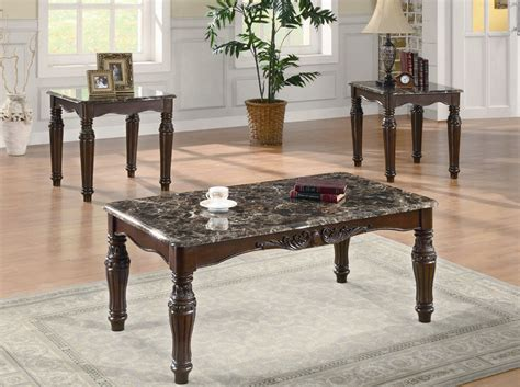 3 Piece Occasional Set Coffee Table Sets Living Room Coffee Table Sets