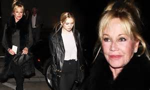 Melanie Griffith Looks Like Hell by Melanie Griffith Dines With Stella After