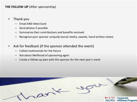 Sponsorship Letter Via Email How To Get Sponsorship For Student Orgs