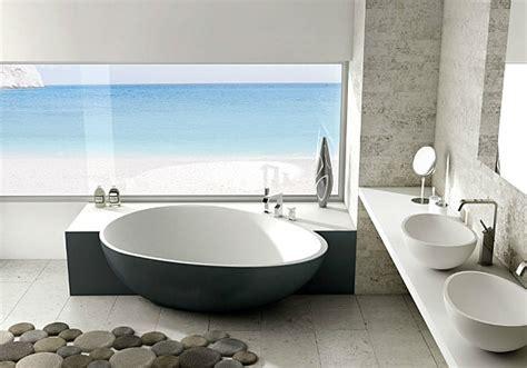 Impressionnant Carrelage Salle De Bain Style Marocain #6: Salle-de-bain-au-bord-de-la-mer.jpg