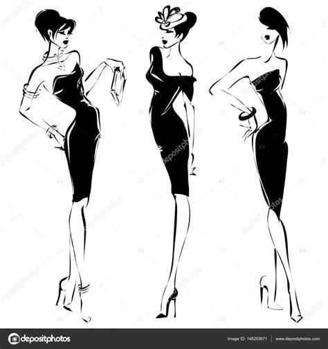 fashion design drawing course pdf fashion model silhouette fashion models