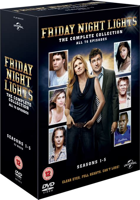 friday night lights season 5 friday night lights seasons 1 5 dvd thehut com