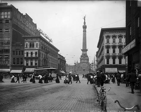 Indianapolis Search File Downtown Indianapolis 1904 Jpg Wikimedia Commons