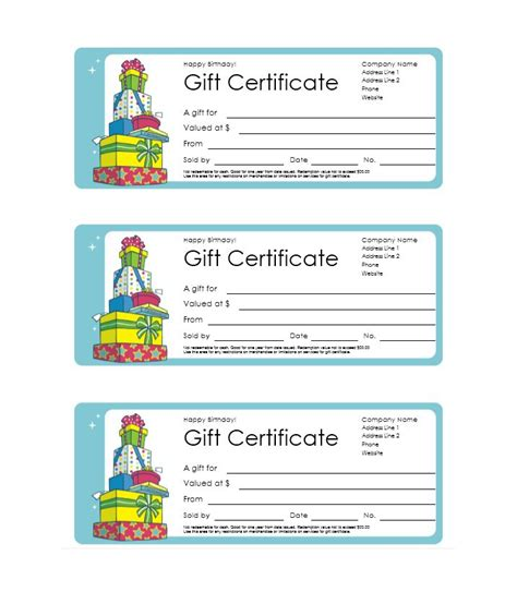 templates cards and certificates 40 free gift certificate templates template lab