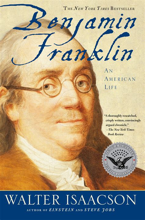 biography com benjamin franklin book by walter isaacson official