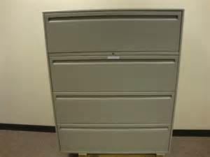 Haworth Lateral File Cabinet Haworth 4 Drawer Lateral File Cabinet Grey Quotes