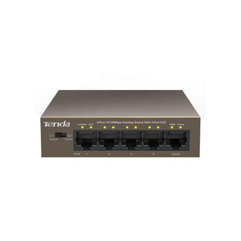 5 port 4 poe desktop switch rivolt technologies
