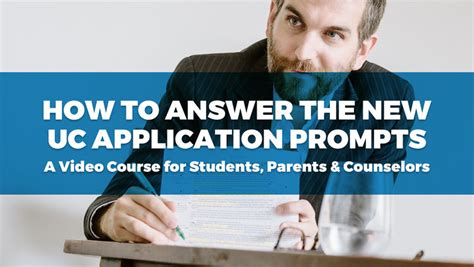 How To Answer On A Application How To Write Your Uc Activities List College Essay