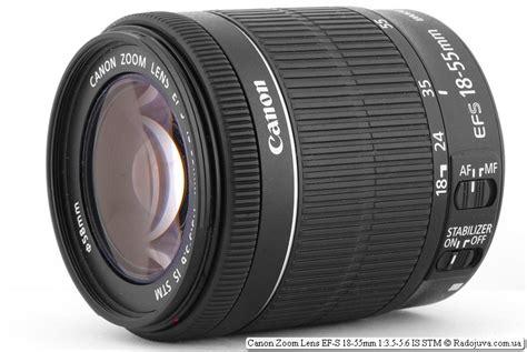 Lensa Canon Zoom Lens Ef S 18 55mm canon zoom lens ef s 18 55mm 1 3 5 5 6 is stm