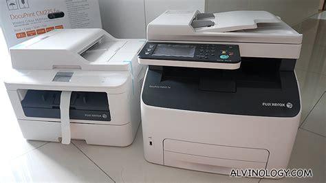 Fuji Xerox M225 Z All In One giveaway why fuji xerox s docuprint printers are