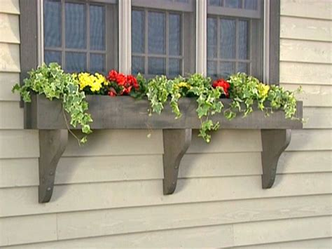 A Window Box Planter by How To Build A Window Box Planter How Tos Diy