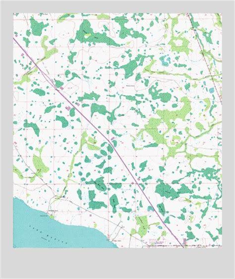 kenansville florida map lake marian ne fl topographic map topoquest