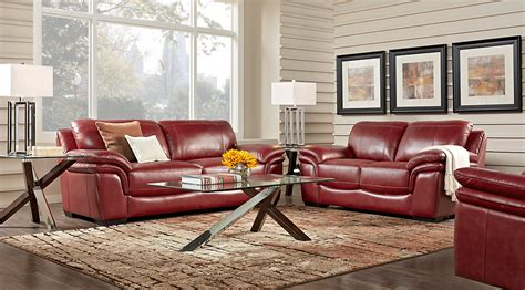 Living Rooms With Leather Sofas Leather Sofa Sets For Living Room Leather Living Room Sets You Ll Wayfair Thesofa
