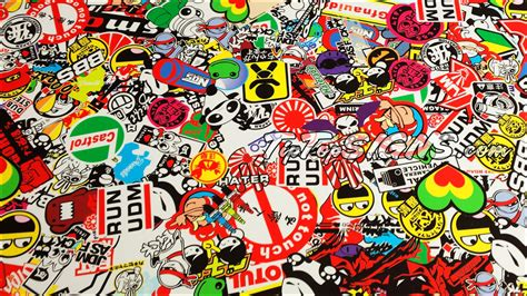wall paper sticker bomb skin wallpaper stickers image search and