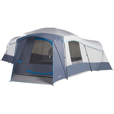 cabin tents ozark trail 23 5 x 18 5 cabin tent sleeps 16 cing