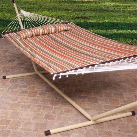 free standing hammock 2 person free standing hammock 13 ft sienna stripe