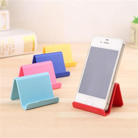Rivet Cell Phone Holders by Korean Style Mobile Phone Holder Creative Mini