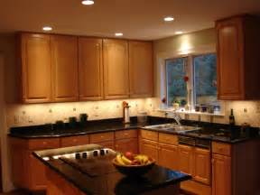 Recessed Kitchen Lighting Kitchen Recessed Lighting Ideas On Winlights Deluxe Interior Lighting Design