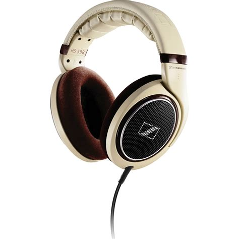 Headphone Headset Stereo Sennheiser sennheiser hd 598 open back around ear stereo headphones hd598