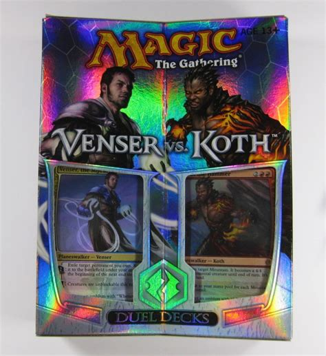 magic decks kaufen magic mtg duel cubiertas venser vs koth ingl 233 s ebay